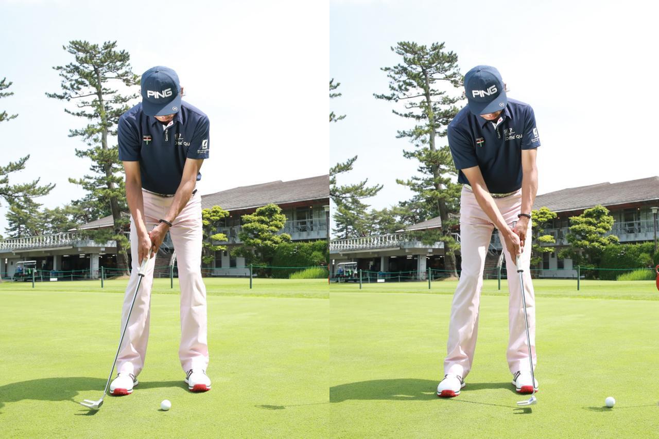 画像: フォローはダウンスウィングよりもコンパクトに抑えたほうが打ちやすいゴルファーもいる(撮影/姉崎正)