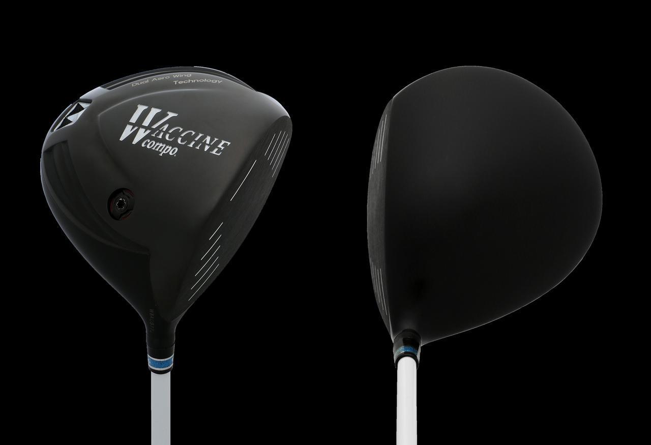 画像: オーソドックスなヘッド形状で、体積450cc、ヘッド重量は188gとやや小ぶりで軽量なヘッド