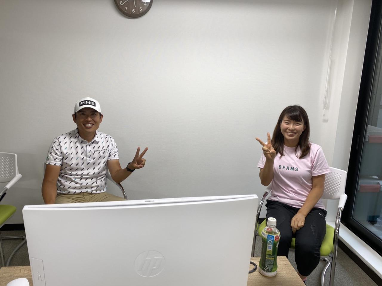 画像: ゴルフメディア向けリモート記者会見を実施した青木翔(左)と渋野日向子(右)の師弟(写真は所属事務所提供のもの)