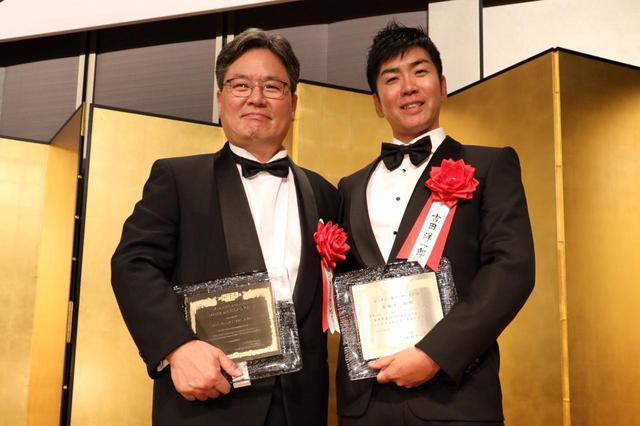 画像: 2019年ゴルフダイジェスト・レッスン・オブ・ザ・イヤー受賞したヤン・フー・クォン教授と吉田洋一郎