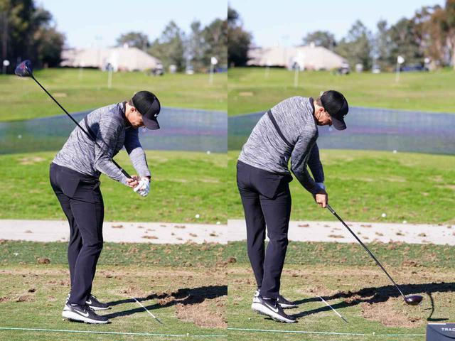 画像: PGAツアー屈指の飛ばし屋キャメロン・チャンプもディレイリリースしている(写真は2019年のファーマーズインシュランスオープン 撮影/姉崎正)