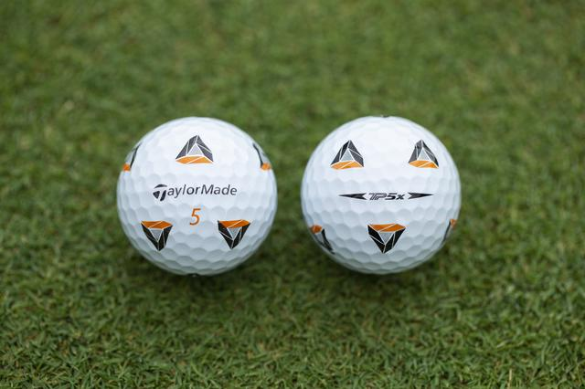 画像: サッカーボールをイメージしたデザインのテーラーメイド 「TP5X Pix」