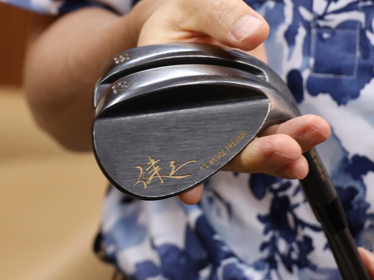 画像: ウェッジはマジェスティゴルフの「KSウェッジゼロバウンスプレミアム」の52度、58度を採用