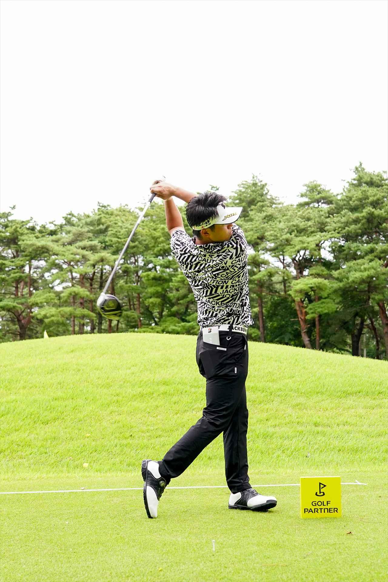 Images : 12番目の画像 - 関藤直煕 ドライバー正面連続写真 - みんなのゴルフダイジェスト