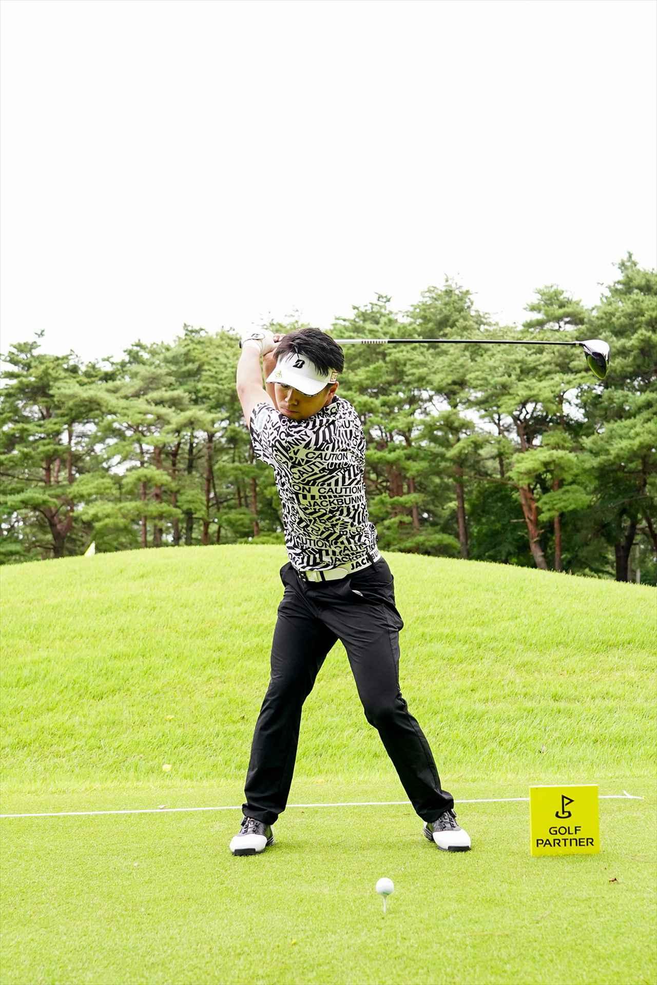 Images : 4番目の画像 - 関藤直煕 ドライバー正面連続写真 - みんなのゴルフダイジェスト