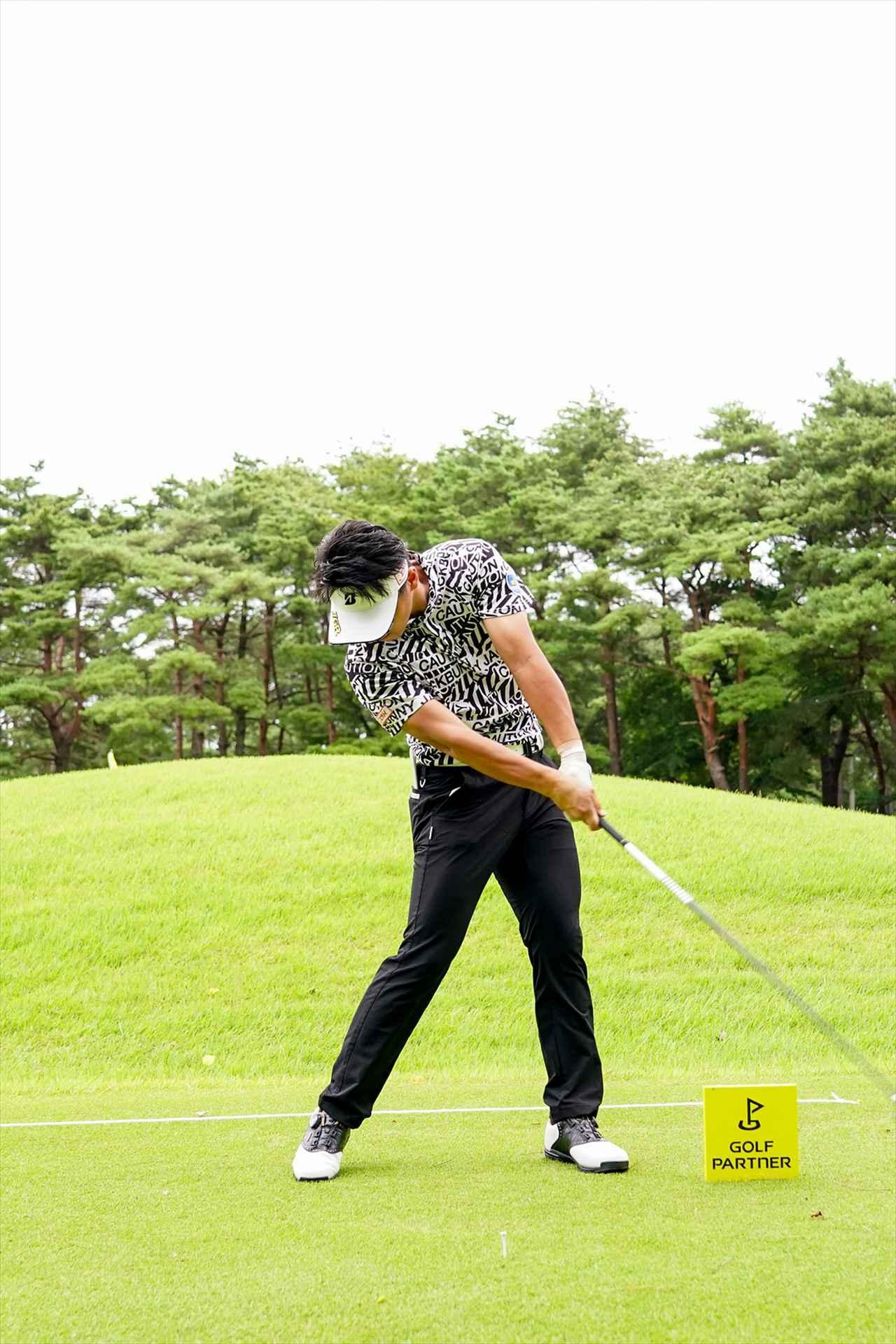 Images : 8番目の画像 - 関藤直煕 ドライバー正面連続写真 - みんなのゴルフダイジェスト