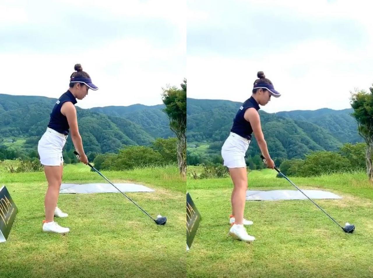 画像: 画像A:見にくいが、画像左では左かかとを上げている。その反動で右かかとを上げ、それを踏み込んで始動すると、脱力できるという