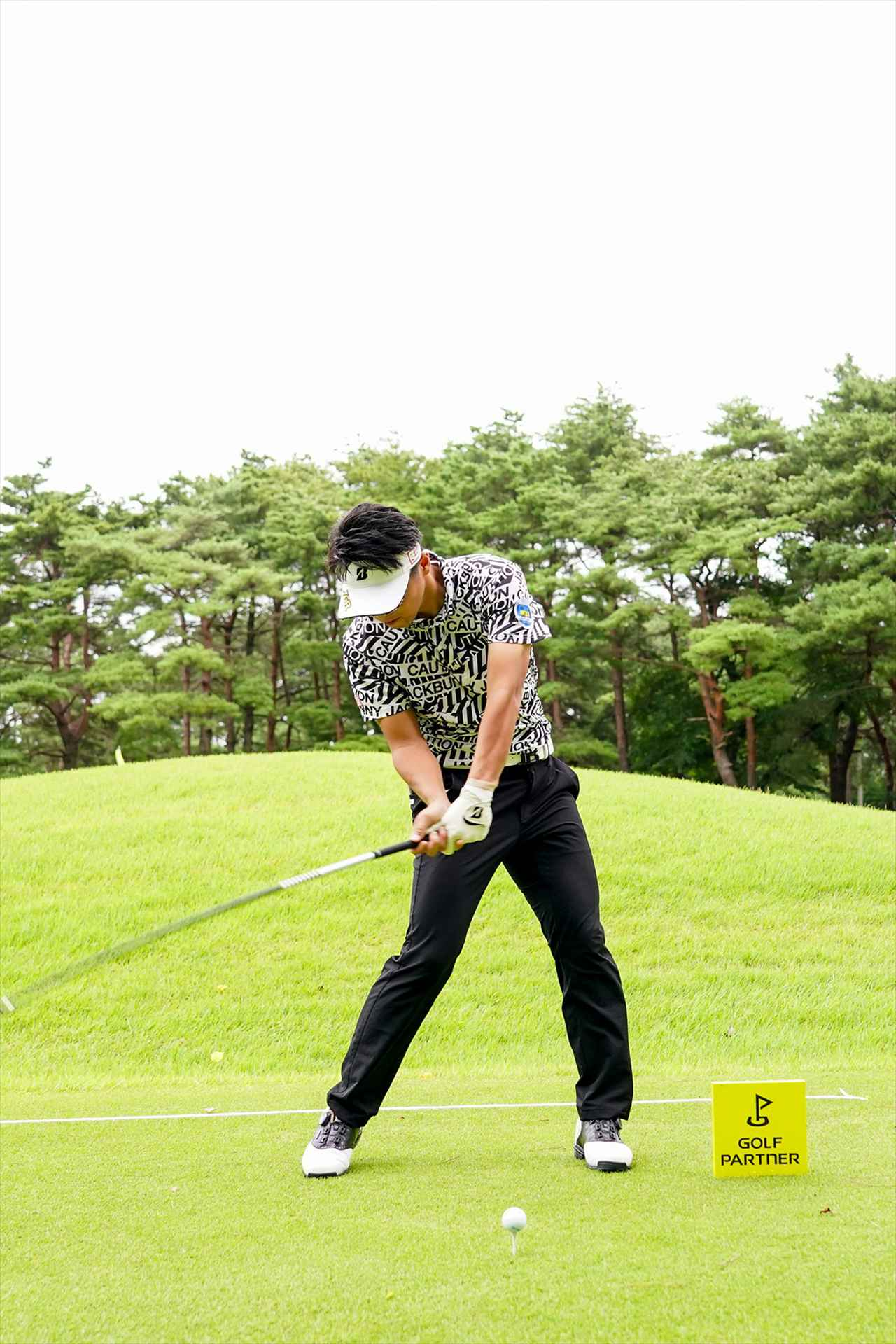 Images : 7番目の画像 - 関藤直煕 ドライバー正面連続写真 - みんなのゴルフダイジェスト