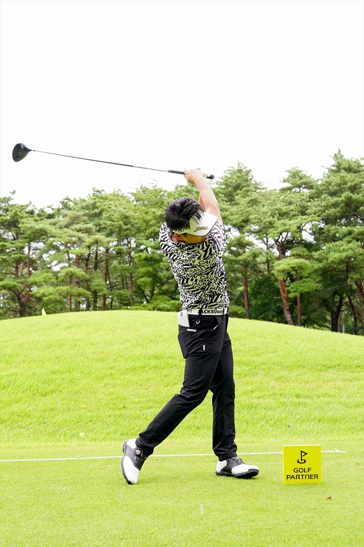 Images : 11番目の画像 - 関藤直煕 ドライバー正面連続写真 - みんなのゴルフダイジェスト