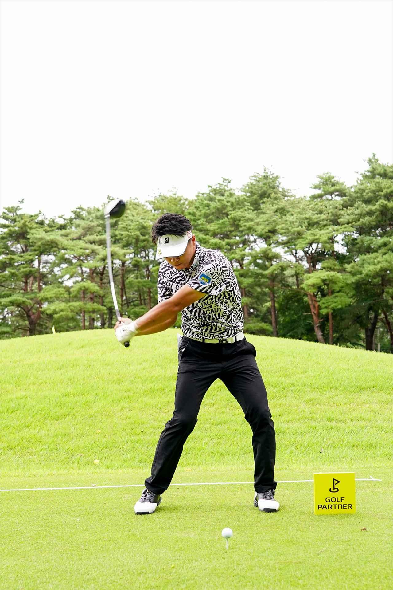 Images : 6番目の画像 - 関藤直煕 ドライバー正面連続写真 - みんなのゴルフダイジェスト