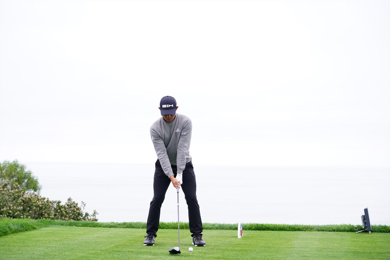 画像: 1番目の画像 - コリン・モリカワ ドライバー 正面連続写真 - みんなのゴルフダイジェスト