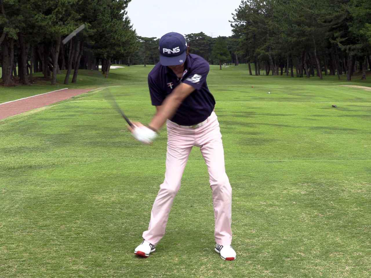 画像: プロゴルファー・中村修にスーパースピードCの効果を体感してもらった