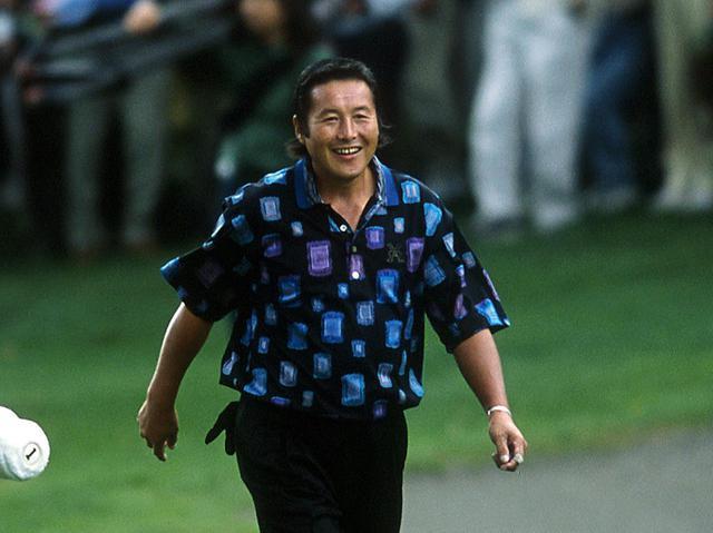 画像: 2002年の全日空オープン最終日、藤田は尾崎将司と優勝争いを繰り広げる。その渦中、17番ホールのとあるショットが「賛否ともにいろんな声をいただいて、印象に残っています」と藤田は言う
