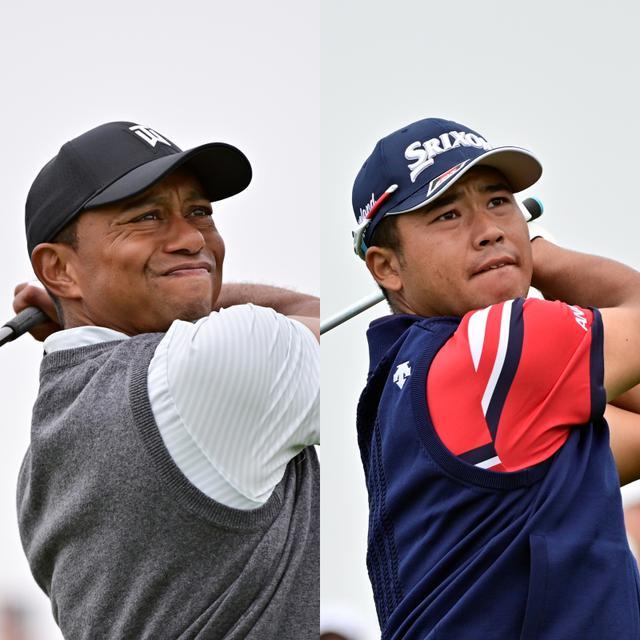 画像: 「メモリアルトーナメント」の初日を18位タイで終えたタイガー・ウッズ(左)と80位タイと出遅れた松山英樹(右)(写真は2019年の全米オープン 写真/有原裕晶)