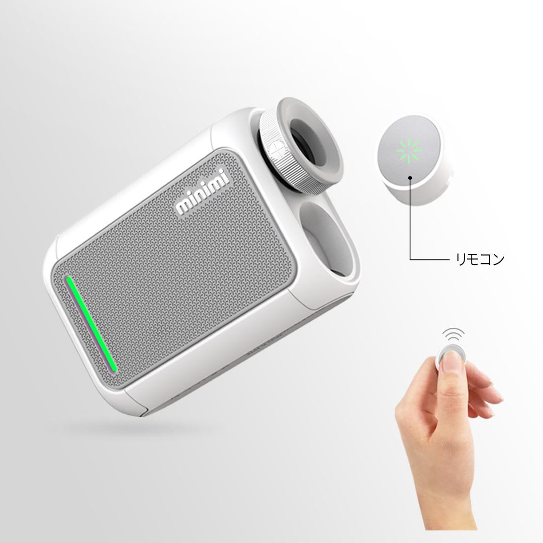 画像: 計測時の衝撃で手ブレが起きないようにリモコン機能が搭載されている(写真提供/GOLFZON Japan)