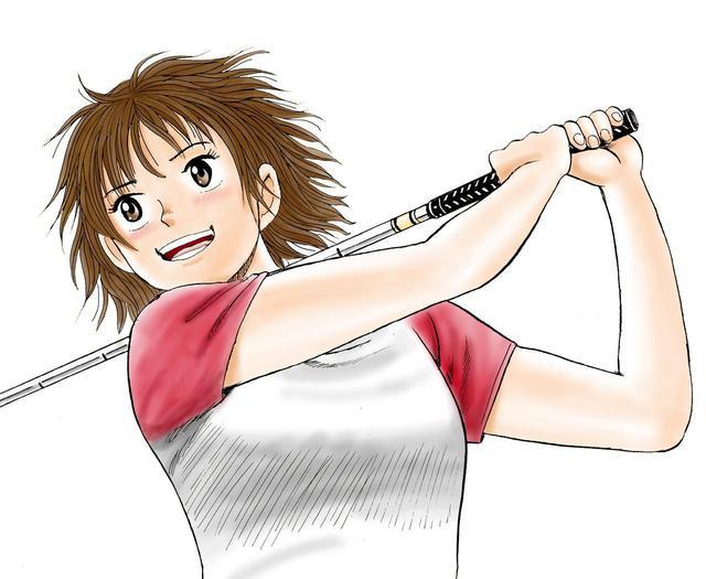 画像: 週刊ゴルフダイジェストで連載中のゴルフ漫画「オーイ! とんぼ」の主人公、天真爛漫な高校生ゴルファー・大井とんぼも票を得た