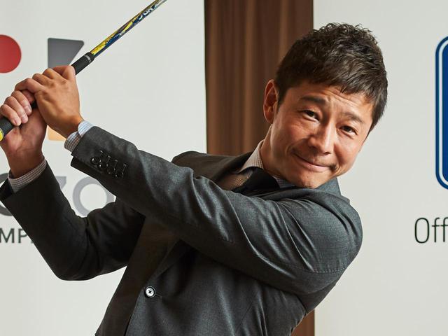 画像: 大のゴルフ好きとして知られる実業家・前澤友作氏を会長候補に推す人も(撮影/中居中也)