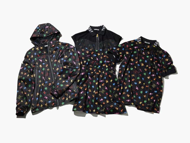 画像: 写真左からフード付ジップジャケット、ポロワンピース、ポロシャツ(写真提供/MARK & LONA)