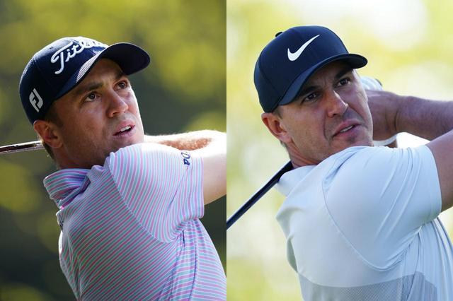 画像: PGAツアー公式サイトで発表された「全米プロゴルフ選手権」のパワーランキング1位はジャスティン・トーマス(左)、3連覇のかかるブルックス・ケプカは3位にランクイン(撮影/姉崎正)