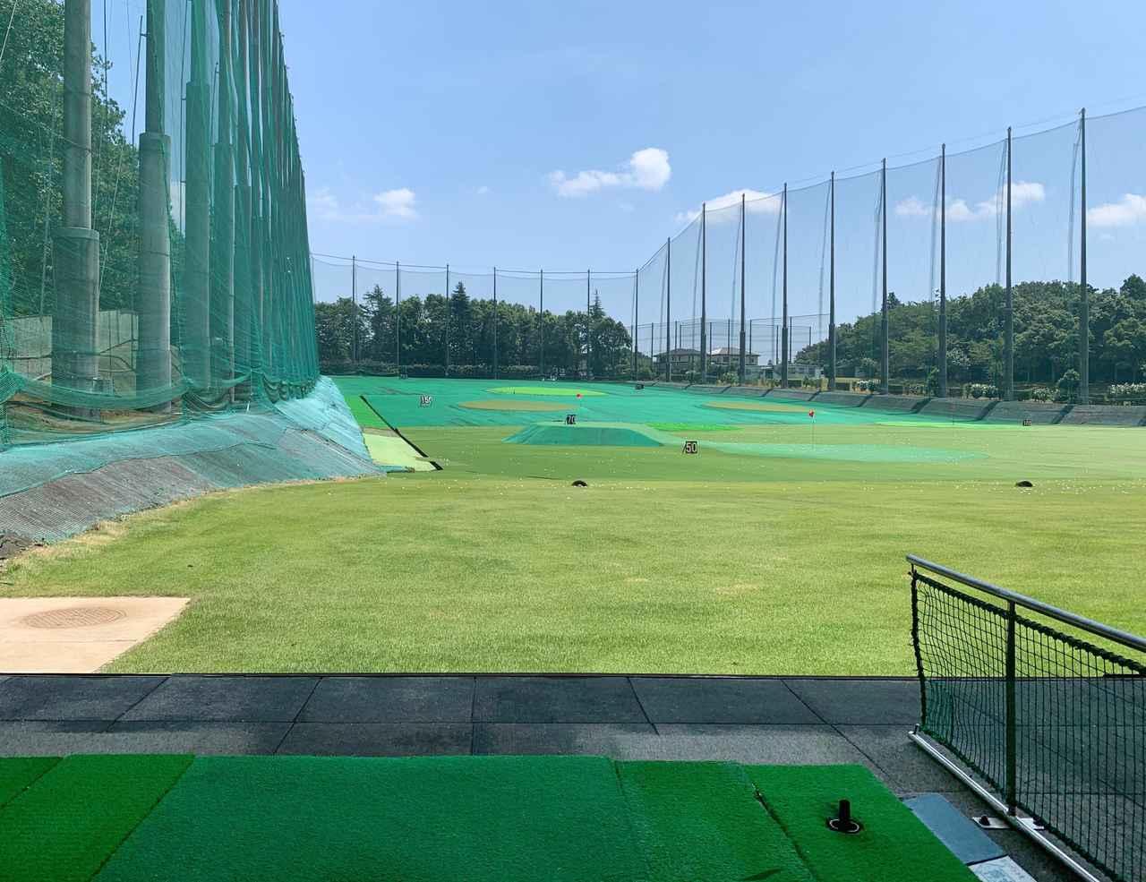 画像: ドロー系の弾道を持ち球にするならセンターよりも左打席からターゲットを狙う練習で、持ち球を磨くことにつながる