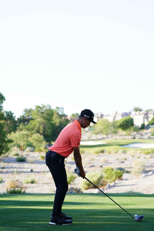 画像: 1番目の画像 - コリン・モリカワのドライバー連続写真(後方) - みんなのゴルフダイジェスト