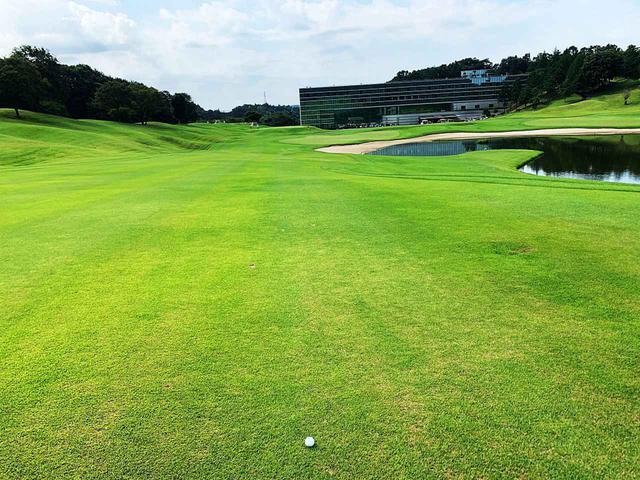 画像: ゴルフ合宿では普段とは違い、練習ラウンドができるというのが大きなメリット。