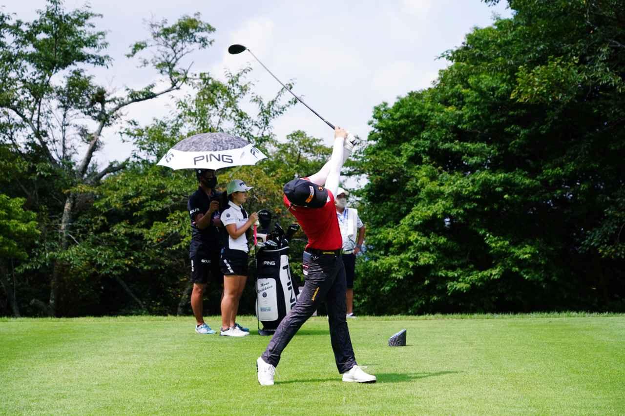 Images : 13番目の画像 - ツアー初優勝!笹生優花のドライバー連続写真 - みんなのゴルフダイジェスト