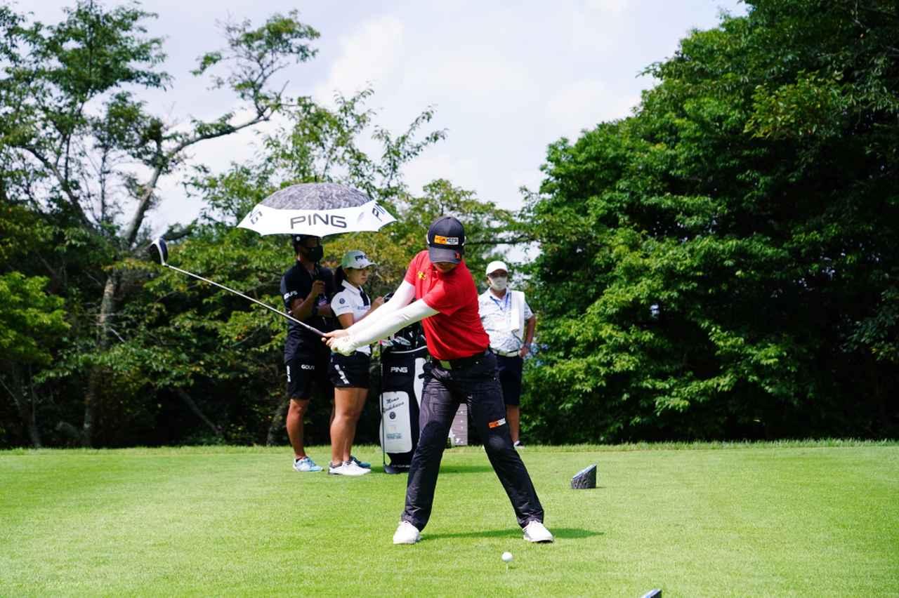Images : 3番目の画像 - ツアー初優勝!笹生優花のドライバー連続写真 - みんなのゴルフダイジェスト