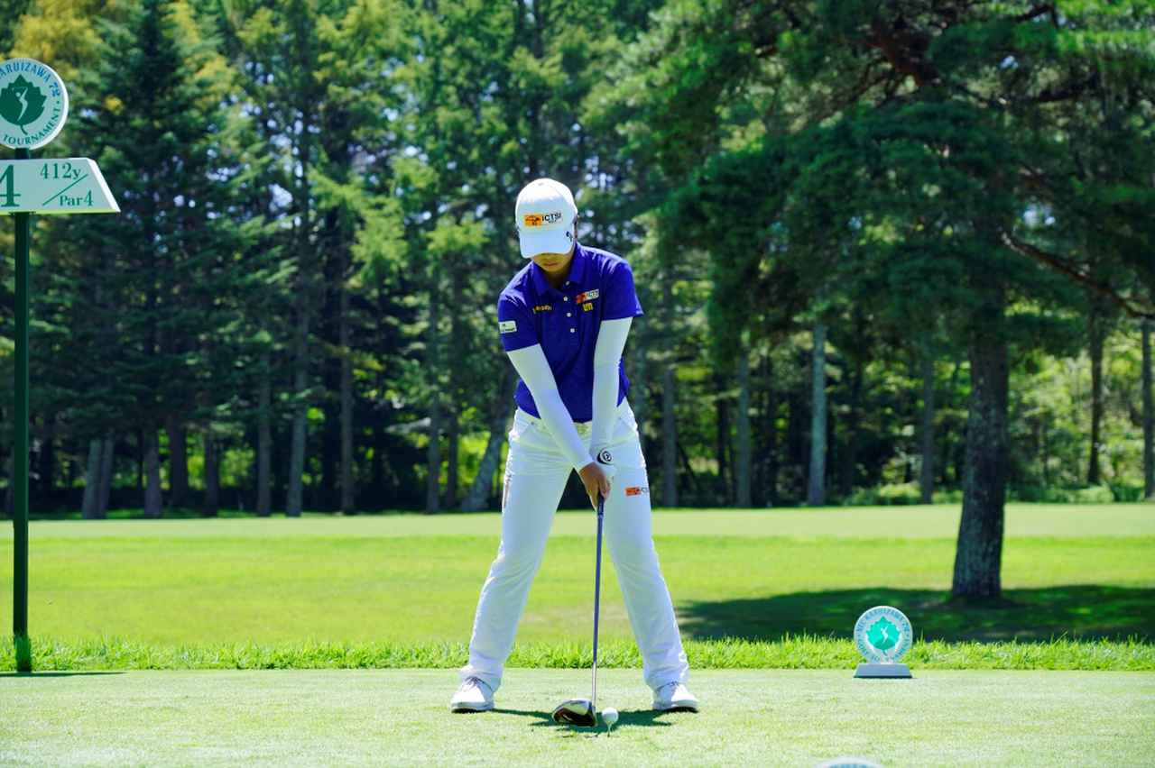 Images : 1番目の画像 - 笹生優花のドライバー連続写真 - みんなのゴルフダイジェスト