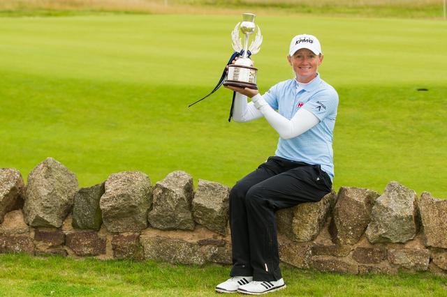 画像: 4人のプレーオフを制し「AISスコットランド女子オープン」で優勝を手にしたステイシー・ルイス(写真/Tristan Jones)