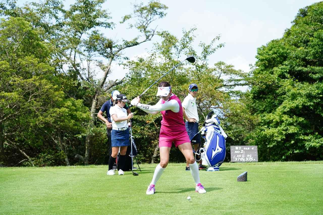 Images : 9番目の画像 - 原英莉花 ドライバー連続写真 - みんなのゴルフダイジェスト