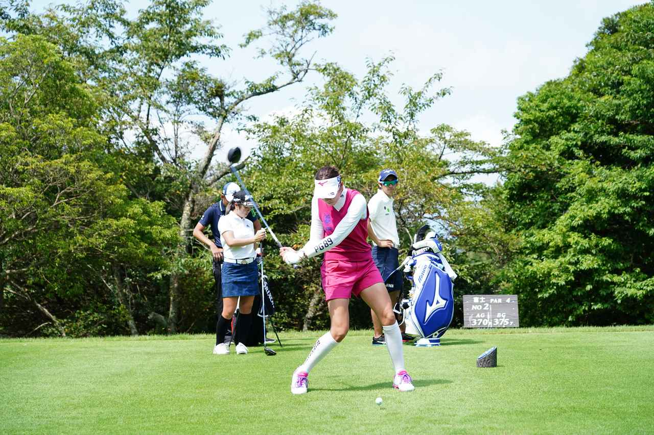 Images : 10番目の画像 - 原英莉花 ドライバー連続写真 - みんなのゴルフダイジェスト