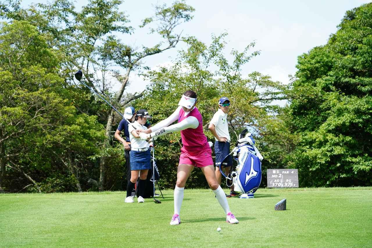 Images : 4番目の画像 - 原英莉花 ドライバー連続写真 - みんなのゴルフダイジェスト