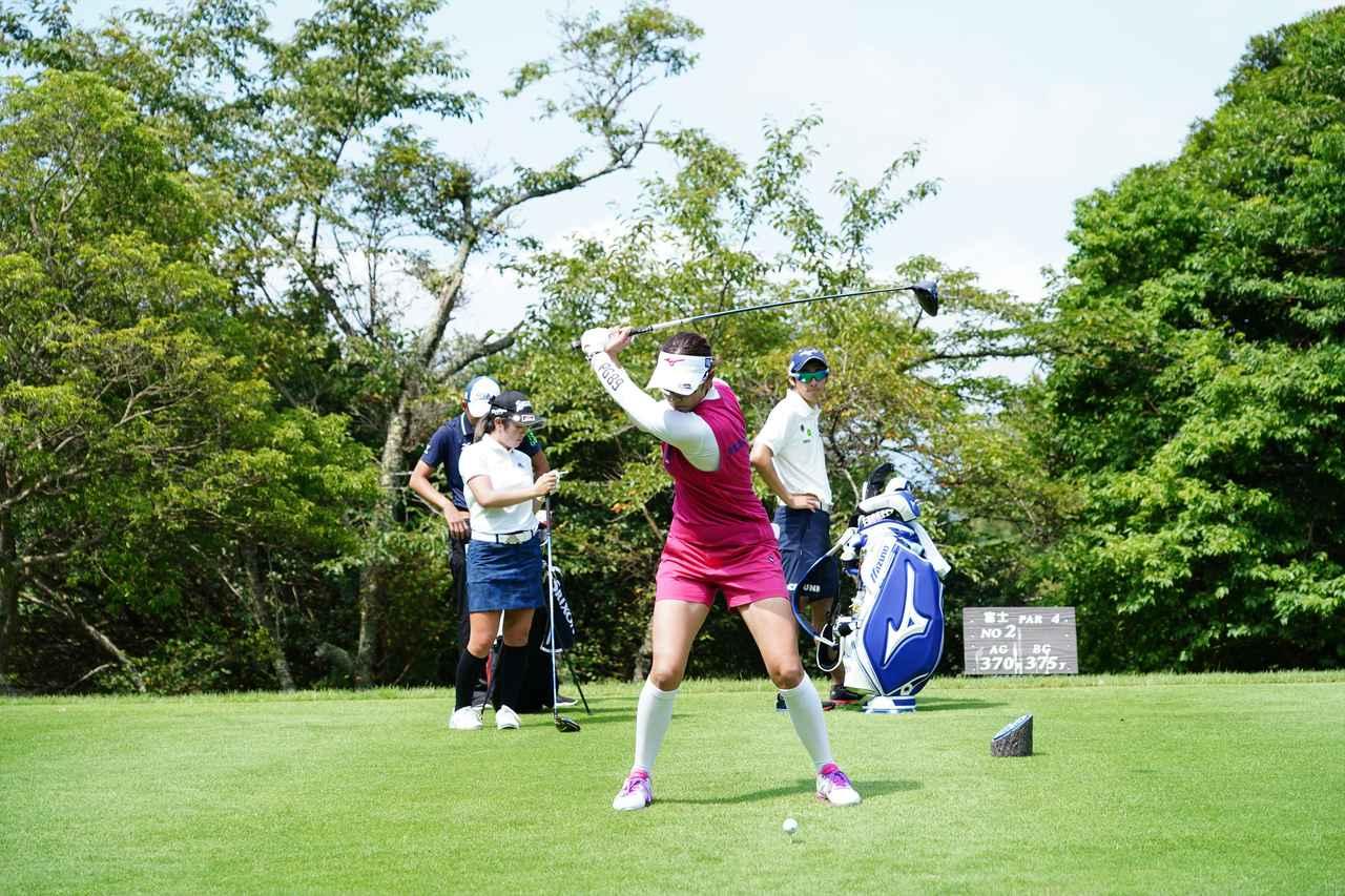 Images : 8番目の画像 - 原英莉花 ドライバー連続写真 - みんなのゴルフダイジェスト