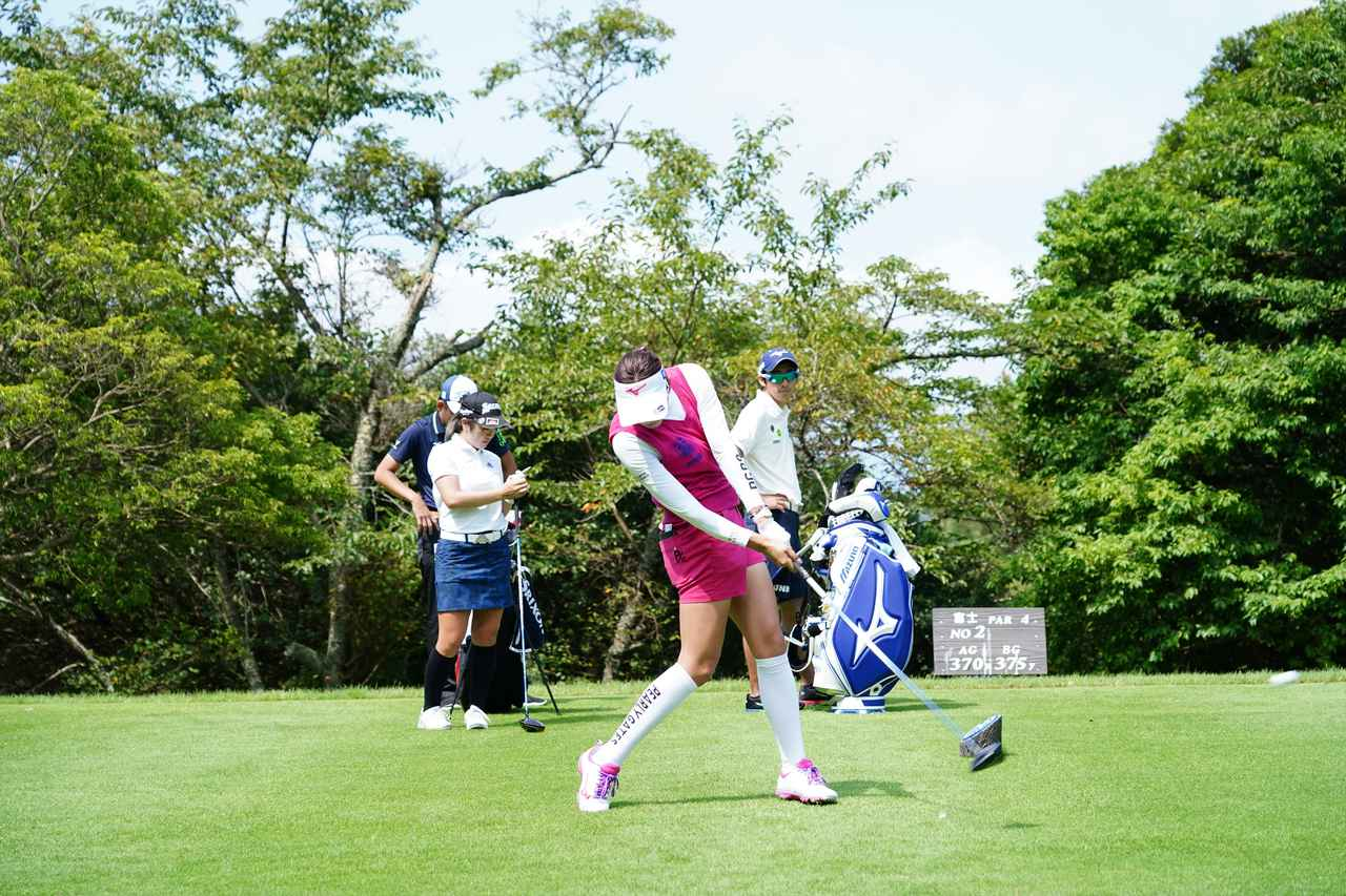 Images : 12番目の画像 - 原英莉花 ドライバー連続写真 - みんなのゴルフダイジェスト
