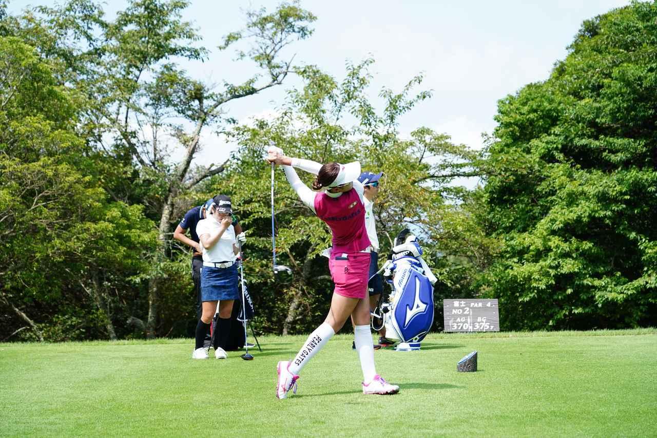 Images : 16番目の画像 - 原英莉花 ドライバー連続写真 - みんなのゴルフダイジェスト