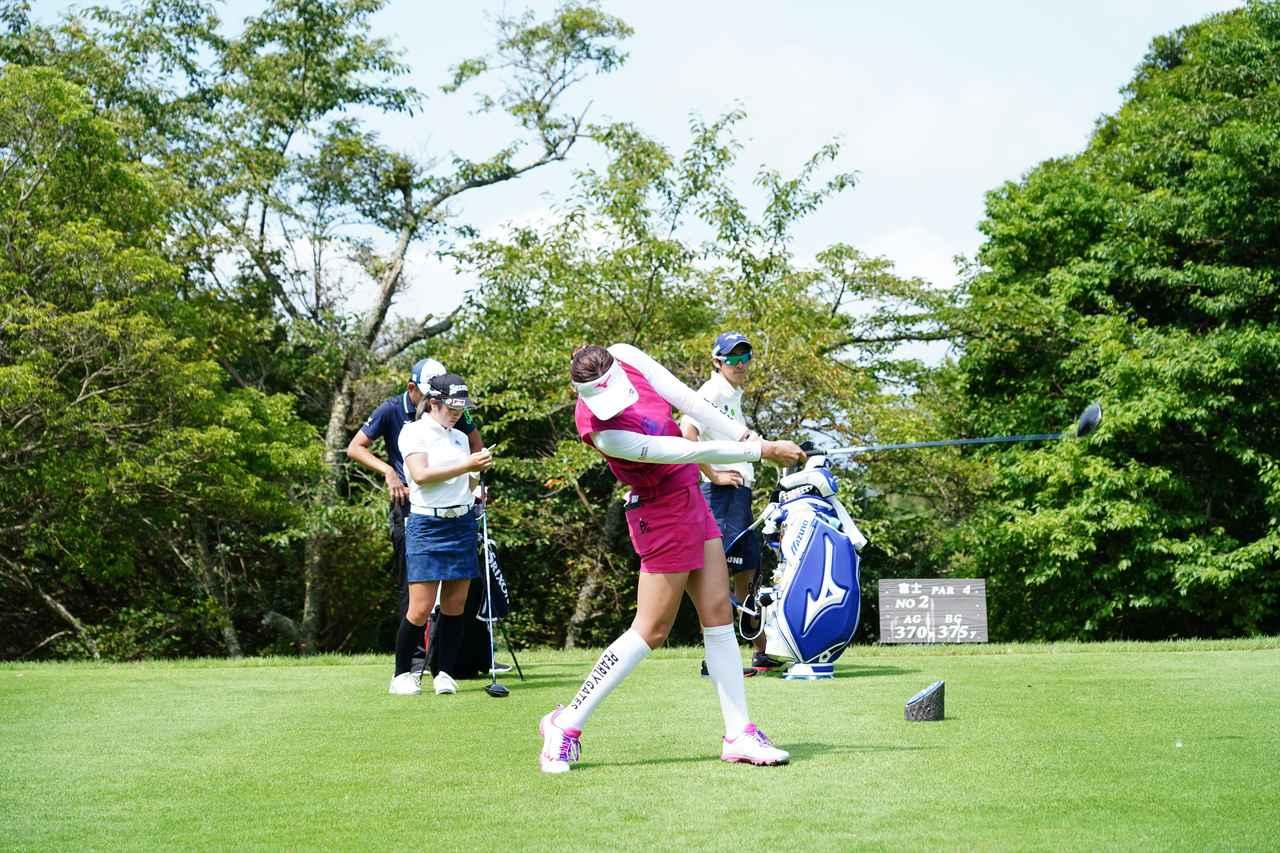 Images : 13番目の画像 - 原英莉花 ドライバー連続写真 - みんなのゴルフダイジェスト