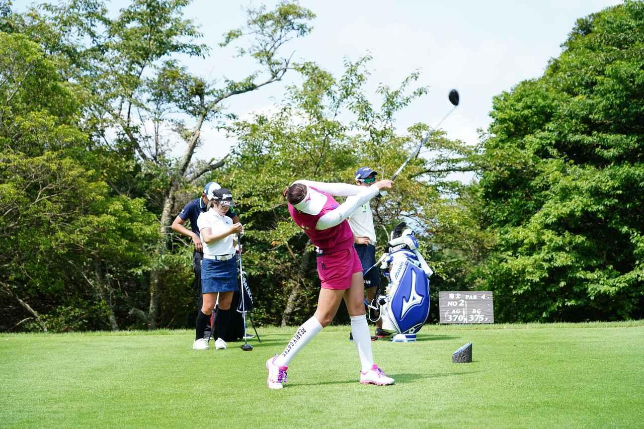Images : 14番目の画像 - 原英莉花 ドライバー連続写真 - みんなのゴルフダイジェスト