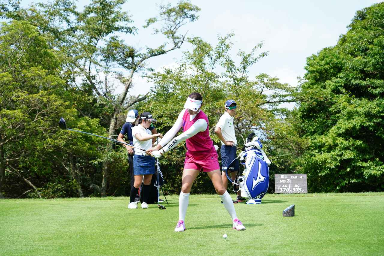 Images : 3番目の画像 - 原英莉花 ドライバー連続写真 - みんなのゴルフダイジェスト