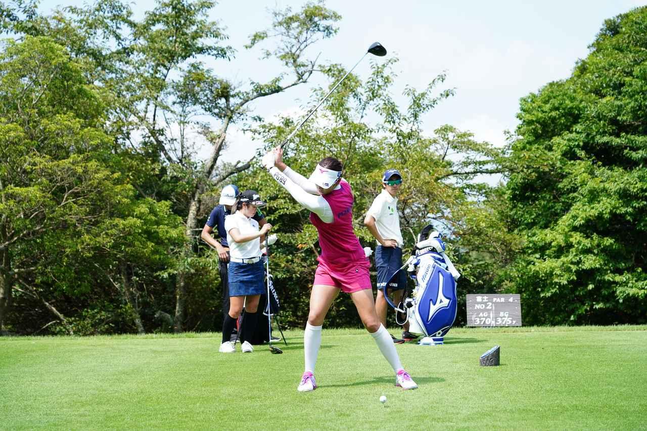 Images : 5番目の画像 - 原英莉花 ドライバー連続写真 - みんなのゴルフダイジェスト