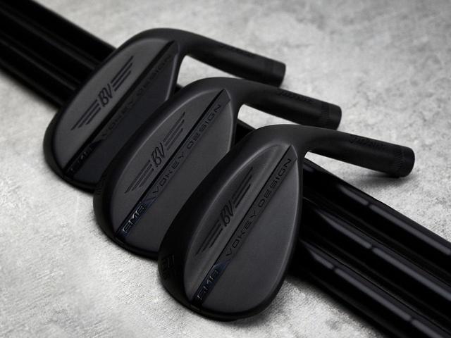 画像: ボーケイデザインSM8ウェッジのオールブラック仕様限定モデルも日本での発売が発表された