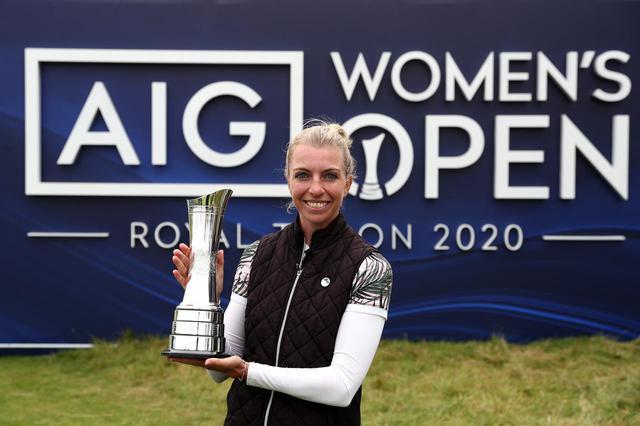 画像: 世界ランク304位からツアー初優勝をメジャーで飾ったソフィア・ポポフ(写真/Getty images)