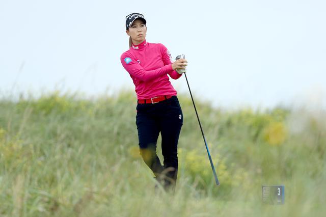 画像: 全英女子オープン(AIGオープン)を日本勢最上位の6位で終えた上田桃子(写真/Getty Images)