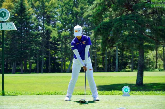 画像: 1番目の画像 - 笹生優花のドライバー連続写真 - みんなのゴルフダイジェスト