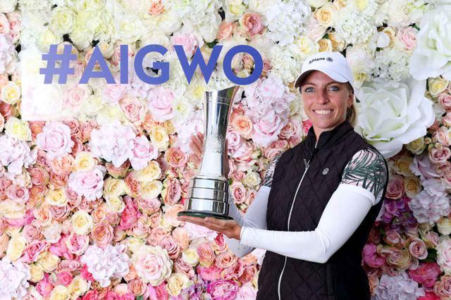 画像: 世界ランク304位のソフィア・ポポフが全英女子オープンを制した(写真はGetty Images)