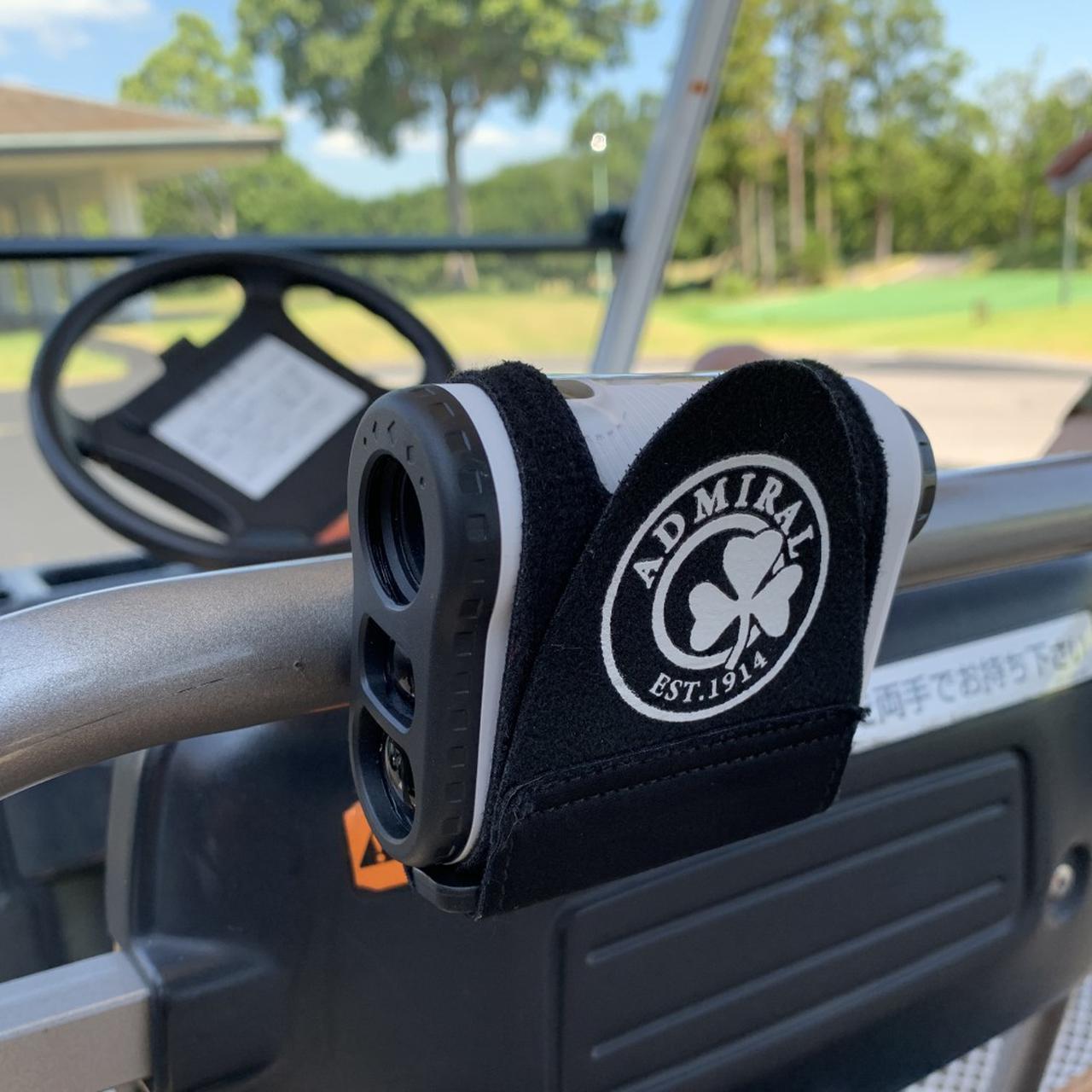 画像: アドミラル距離計測器マグネットベルト-ゴルフダイジェスト公式通販サイト「ゴルフポケット」