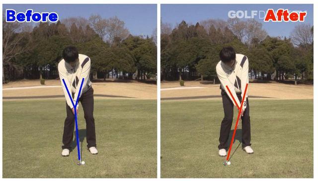 画像: 【80ヤード】右手の角度をキープしたまま振る!