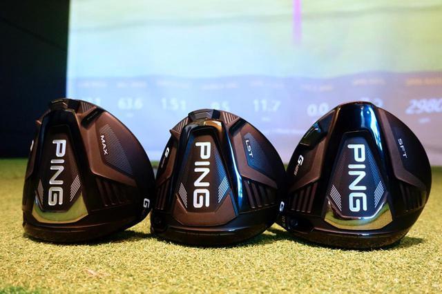 画像: ピンのニュードライバー「G425」3モデルをプロゴルファー・中村修が打ち比べた。左から、3モデルの中でもっとも慣性モーメントが大きい「MAX」、小ぶりのサイズで低スピンモデルの「LST」、つかまりを重視した「SFT」の3モデル
