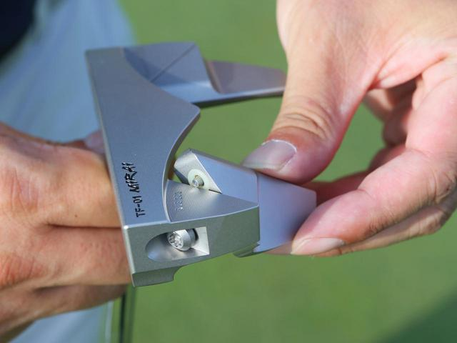 画像: 1本でピン型にもマレット型にも!共栄ゴルフTF-01 Miraiパター