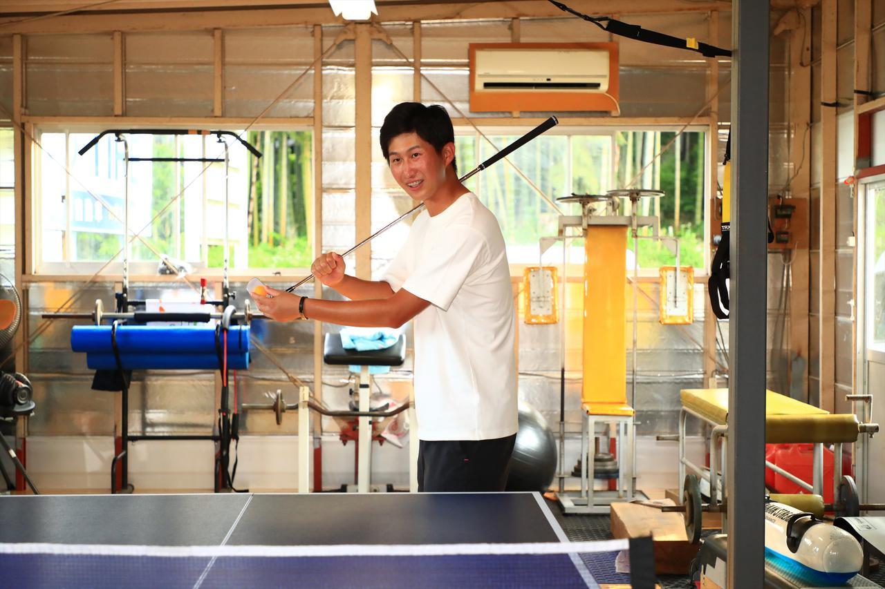 画像: 長いオフの間に卓球をヒントにボールコントロールを磨いた(写真/大澤進二)